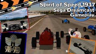 The Spirit of Speed 1937 | Sega Dreamcast | Gameplay HD VGA