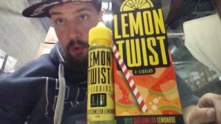 Wild Watermelon Lemonade by Lemon Twist E-Liquids (All Day Vape A.D.V ) W/ Special Guest Vape Review
