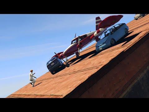 DODGE THE VEHICLES DEATHRUN! (GTA 5 Funny Moments)