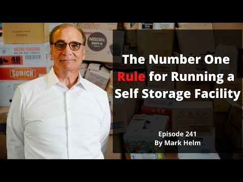 The Number One Rule For Running A Self Storage Facility - 241