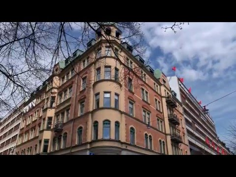 Stockholm City May 2016 in UHD 4K