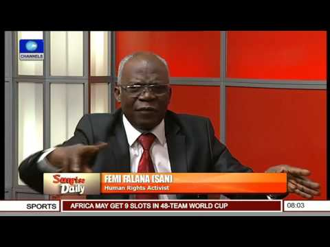 Senate: No Constitutional Rights To Suspend Its Members Even For A Single Day -- Femi Falana Pt 2