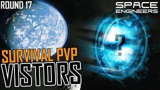 Space Engineers: VISITORS! (aka Version 2 beta) - PVP Survival #18 (Multi-PoV)