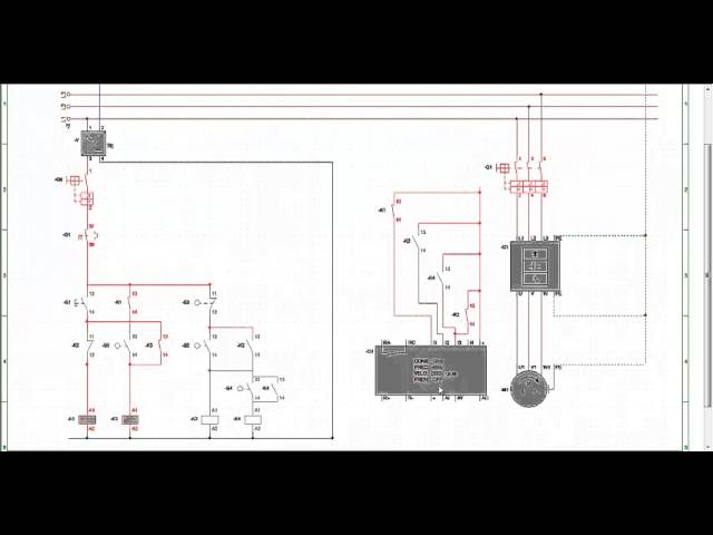 Esquema El 233 Ctrico Motor Con Variador De Frecuencia