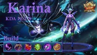 Mobile Legends: Karina Jungle, fastest jungler in the game!?
