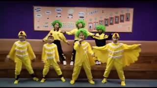 聖公會榮真小學 慳電乖乖之綠色雞雞賀綠色新年版