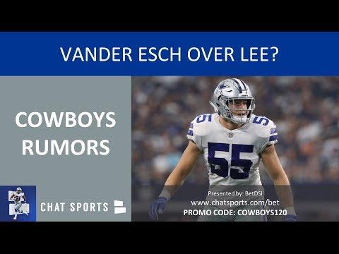 Cowboys Rumors: Vander Esch Over Lee, Winning NFC East, Michael Gallup Playing & Dak Prescott Trade
