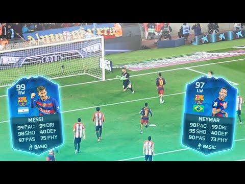 BARCELONA V ATHLETIC BILBAO IN NOU CAMP! Messi Ballon D'Or Parade!