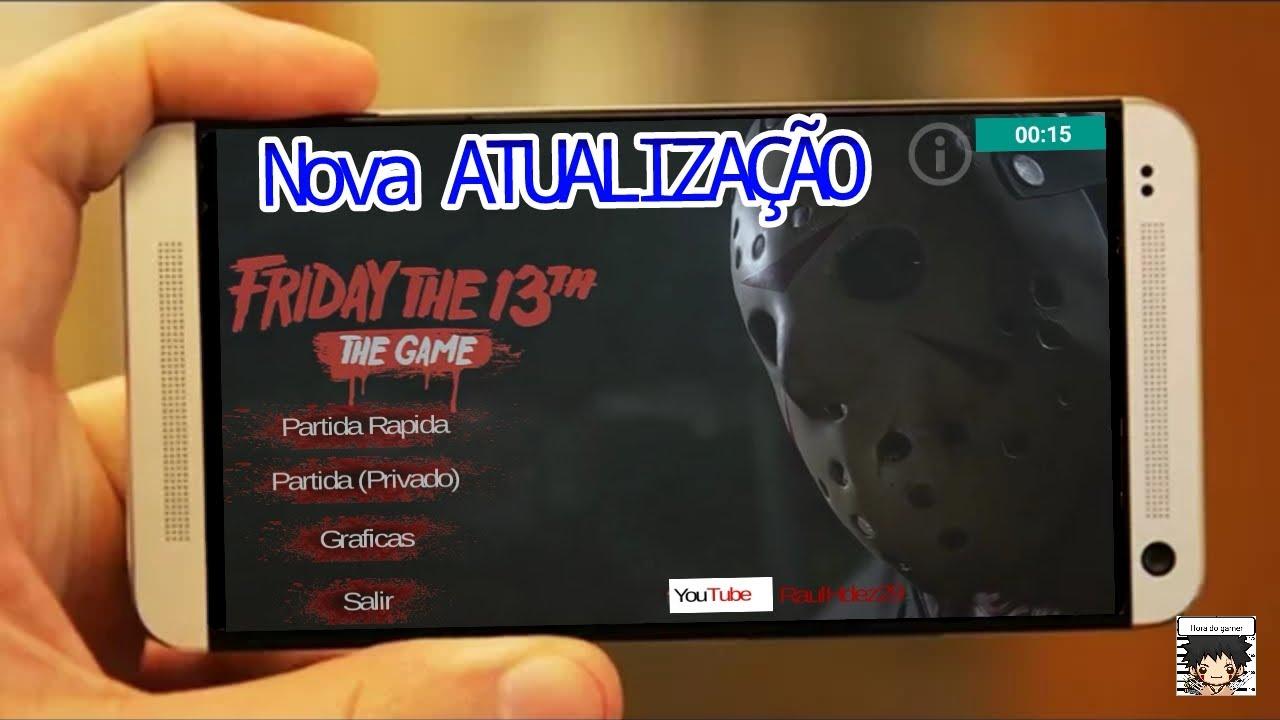 SAIU! - FRIDAY THE 13th : THE GAME 13 ANDROID - ATUALIZAÇÃO 2.0 (beta)