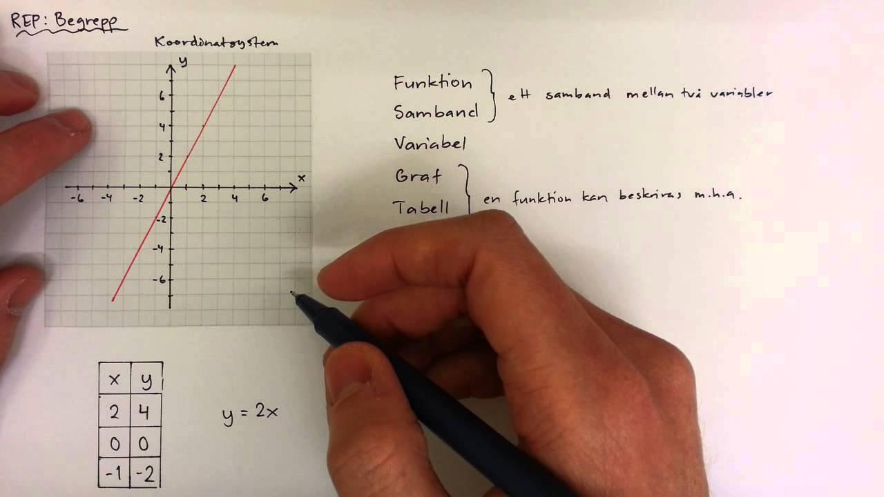 9 - Funktioner och Algebra - Begrepp