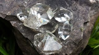 Crazy Herkimer Diamond Pockets