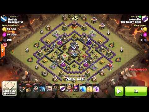 Lava Hound Attack Strategy Th9 3 Star