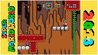 In and Out Volcano | Super Mario World Hack