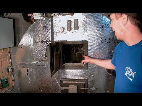 #8 - Heating With Wood - Indoor Gasification  Wood Boiler - Part 2