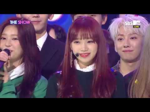 IZ*ONE, gets SECOND THE SHOW CHOICE! [THE SHOW 181120]