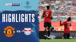 Manchester United 5-0 RB Leipzig | Champions League 20/21 Match Highlights