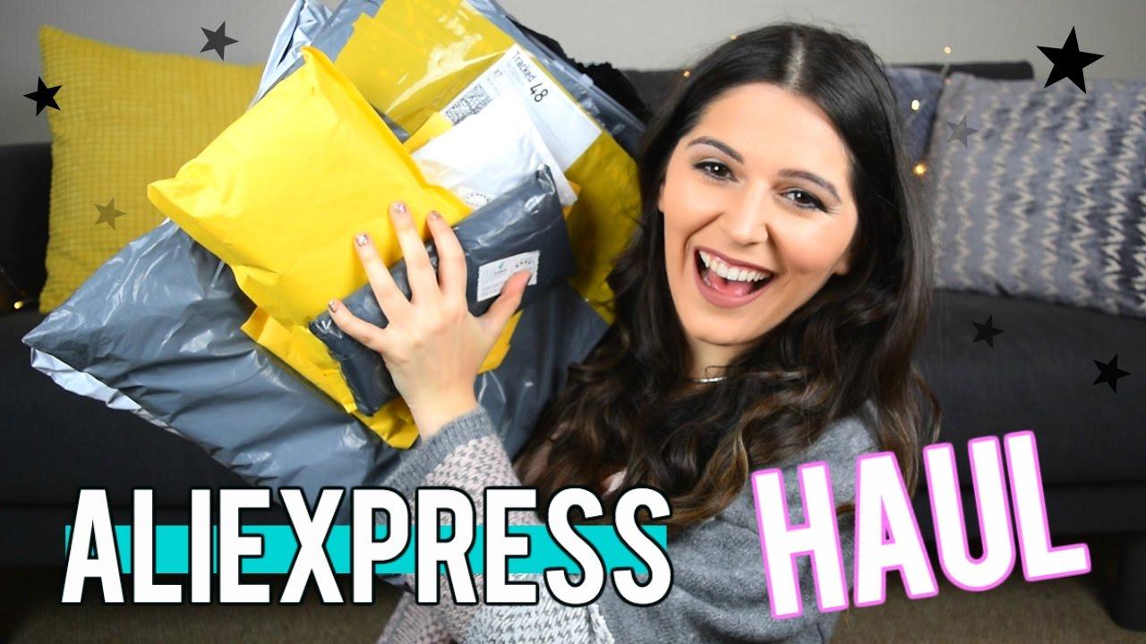 Haul/Unboxing Aliexpress 2017 - COMPRITAS DE CHINA! Steph T