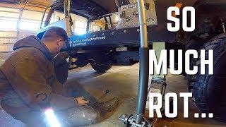 95 Wrangler Body Lift/ Rust Nightmare