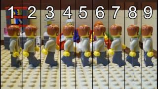 Как снять Лего мультик. # 1 Ходьба.