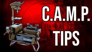 C.A.M.P. Building Tips & Advice | Fallout 76 Guides