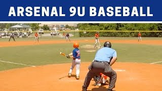 ⚾️ Arsenal vs Area Stars | 9U Baseball Highlights