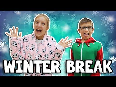 Winter Break Morning Routine