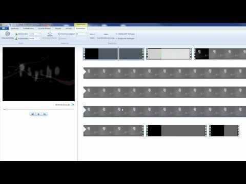 4. Projekt speichern / Film und Audio einfügen und schneiden beim Windows Live Movie Maker 15.2