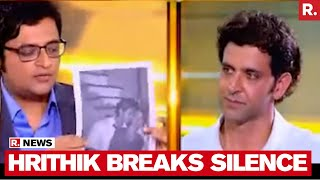 Hrithik Roshan Speaks To Arnab Goswami On Kangana Ranaut