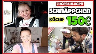 150€ KÜCHE gekauft 🥳 | SSW 18🤰🏻Mamaalltag | Pflege von Motte | FamilyVlog #257