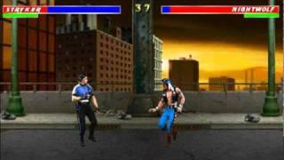 Stryker Vs. Nightwolf (MK3 Sprite Animation) thumbnail