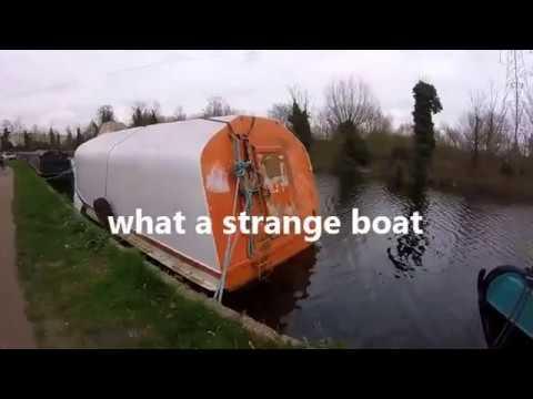 What A Strange Boat, Magnet Fishing Uk  18 03 2017