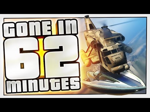 FLYING BOAT | Gone In 62 Minutes #2 (GTA 5 Challenge)