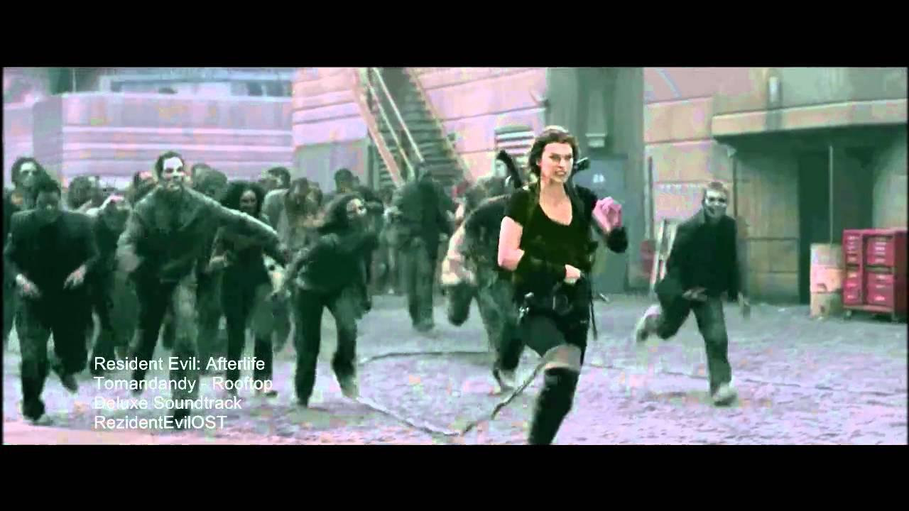 "Download Resident Evil: Afterlife - ""Rooftop"" song - Tomandandy"