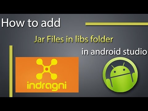 How To Add Jar Files In Android Studio