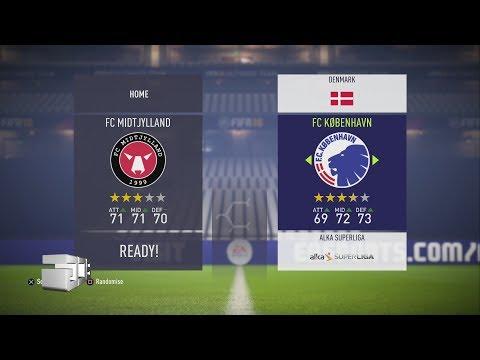 Fifa 18 Danish Superliga Ratings & Kits