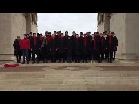 Anzac Day Commemoration Choir 'In Flanders Fields' 2017