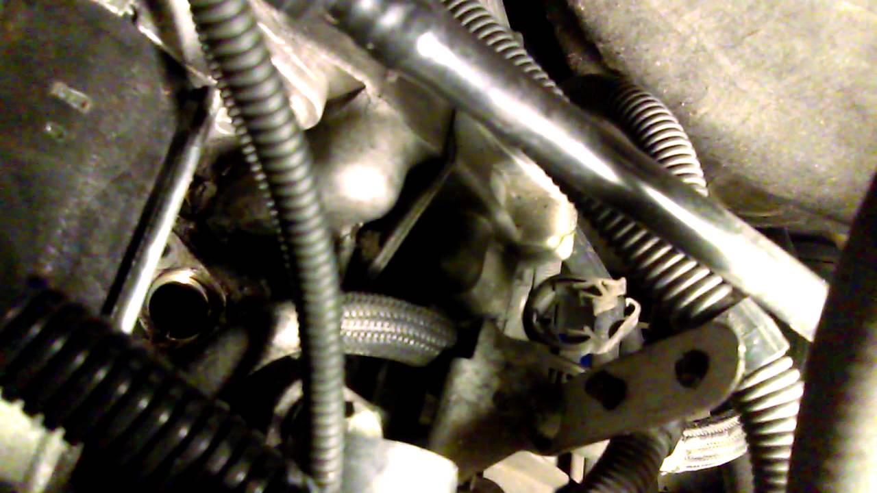 BMW 335I Crankshaft sensor location and fix 3 - YouTube