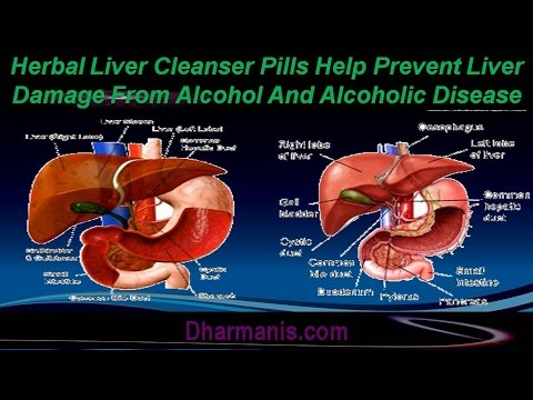 Herbal Liver Cleanser Pills Help Prevent Liver Damage From ...