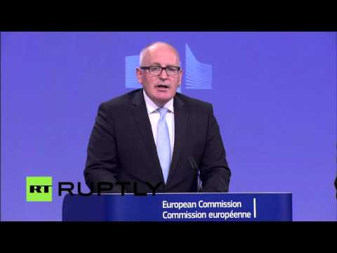 LIVE: European Commission to speak on EU-Turkey visa liberal