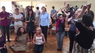 Игра с палочками. Орф- Шульверк. Москва 2015
