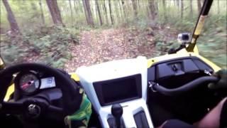 yamaha yxz1000r slow speed woods