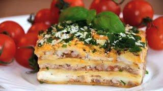 ✧ ЛАЗАНЬЯ C ФАРШЕМ И СОУСОМ БЕШАМЕЛЬ ✧ Lasagna with Bechamel sauce ✧ Марьяна