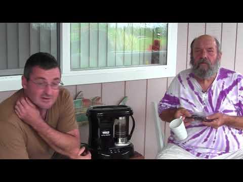 Tasting Coffee from Bills Farm