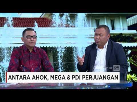 Antara Ahok, Mega & PDI Perjuangan