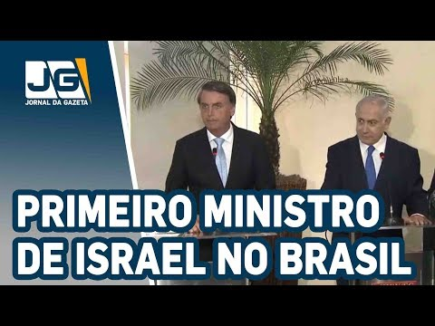 Bolsonaro E Primeiro-ministro De Israel Se Encontram No Rio
