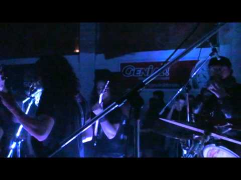 Albanian Death Metal band Gverr playing at Armageddon II