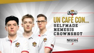 Un café con... Selfmade, Nemesis y Crownshot by Nescafé 3en1 #VoyConTodo