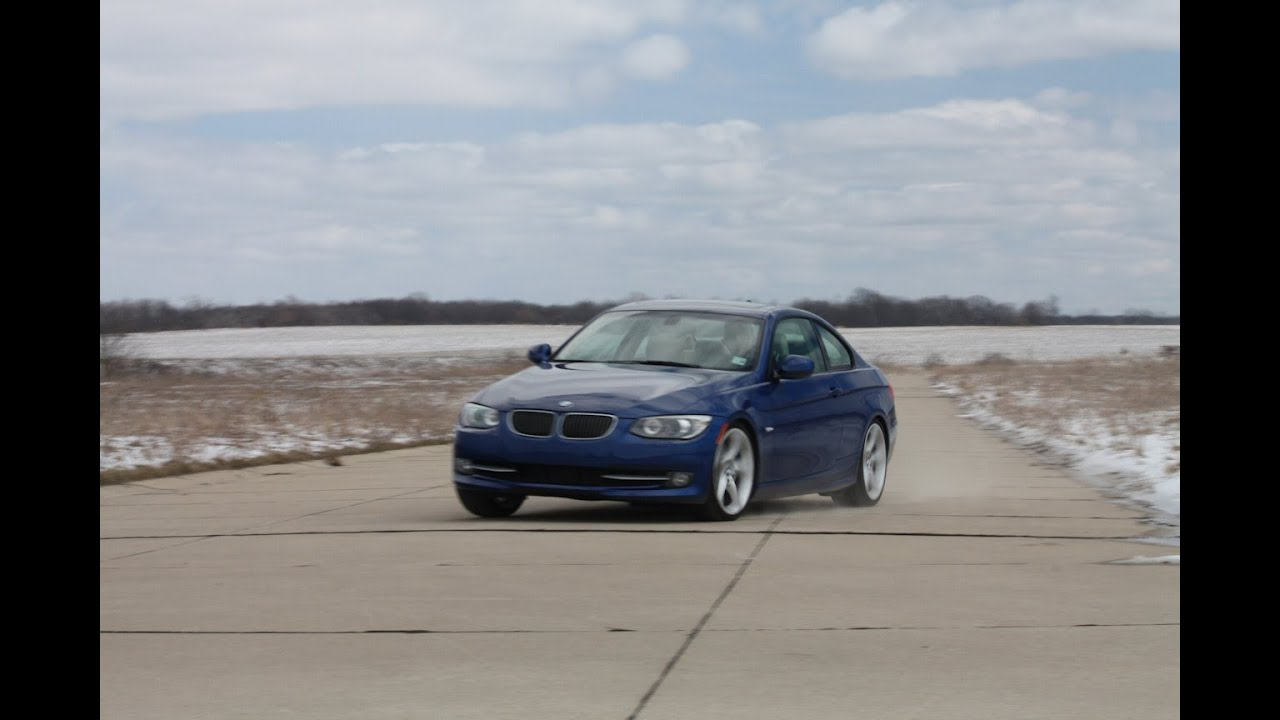 2011 BMW 3 Series Coupe 335i Review by Automotive Trends  YouTube