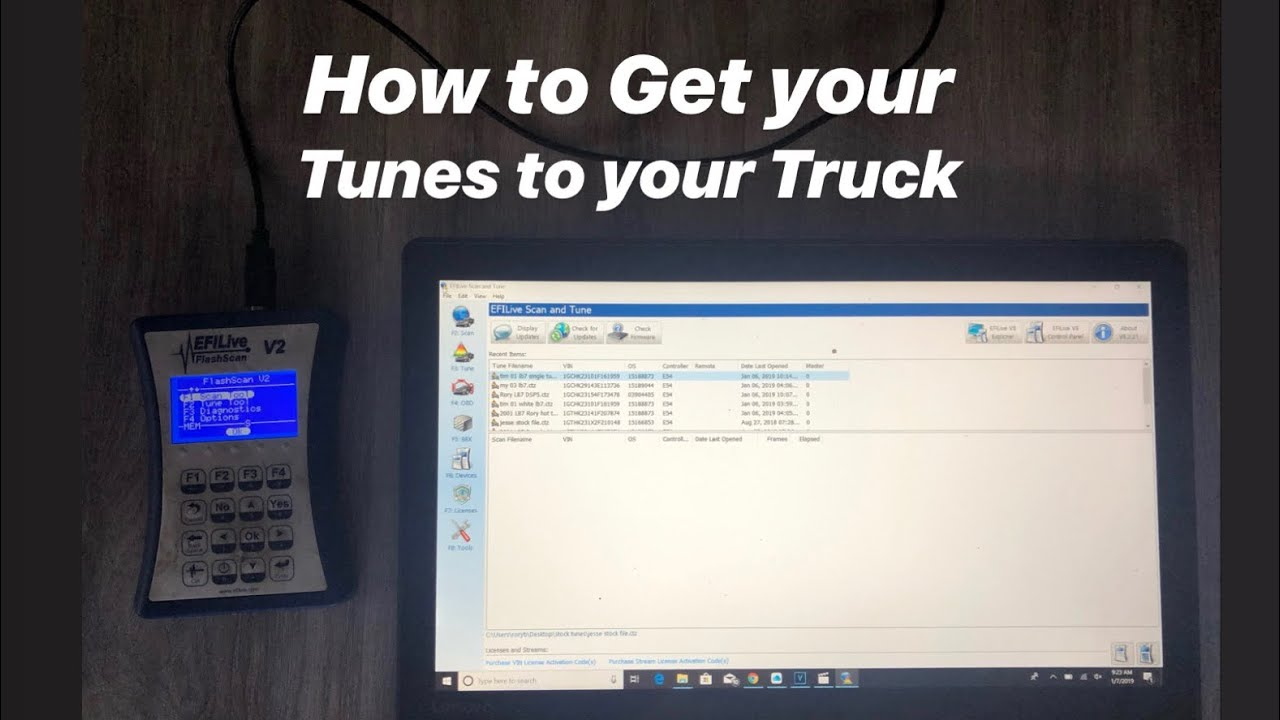 EFI Live: How To Download Tune Files and Get Your Truck Tuned