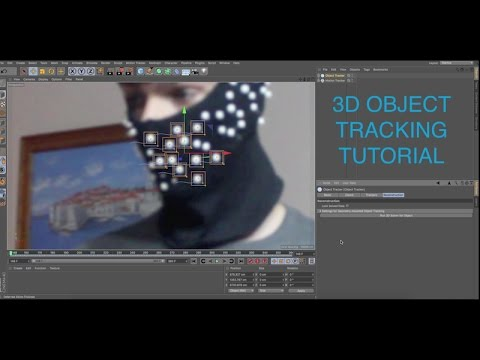3D Object Tracking Tutorial! (Cinema 4D R18)